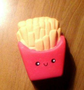 Сквиш картошка фри. Приятно пахнет.