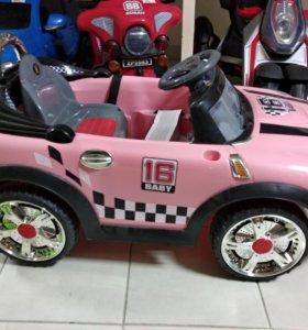 Электромобиль детский Мини купер