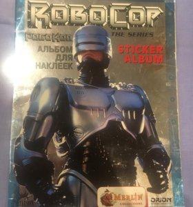 Альбом с наклейками Робокоп