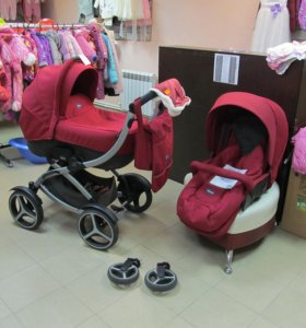 Коляска 2-в-1 Chicco Duo Artic после 1 ребенка