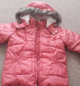 Куртка зима Мазекея. 140см.новая