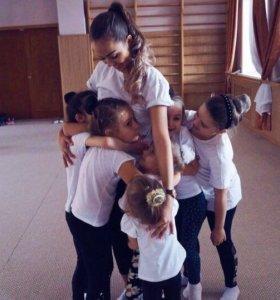 Гимнастика и танцы для детей 🤸🏽♀️👯
