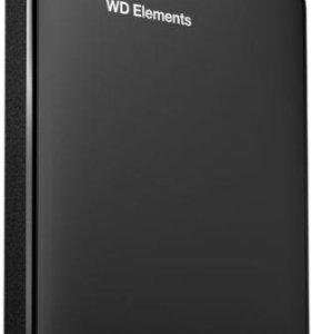 Внешний жесткий диск WESTERN DIGITAL Elements Port