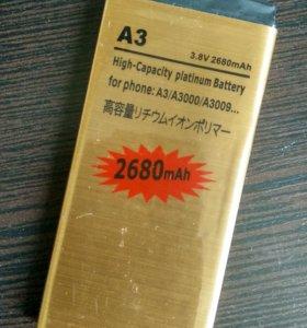 Аккумулятор для samsung galaxy a3