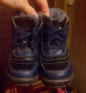 Обувь зимняя и осенняя на мальчика.
