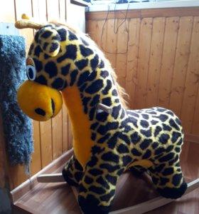 Детская качалка жираф