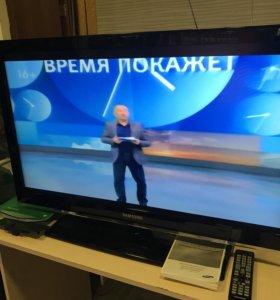 Телевизор Самсунг 37, с цифровыми каналами