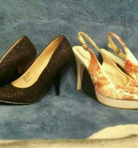 Обувь- четыри пары р.37-38