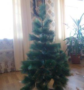 гирлянда новый год елка скусственная ель сосна