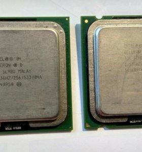 Процессор Celeron D, Pentium 4