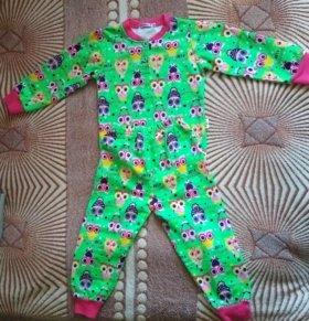 Пижамка новая 100% хлопок.