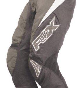 Детские мото штаны FOX Kids 180 Racepants серые