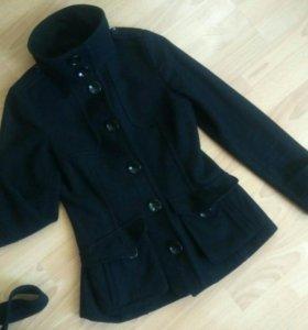 Шерстяной пиджак h&m