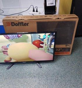 "Телевизор 32"" doffler"