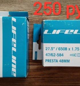 Камеры LifeLine MTB ниппель преста, размер 27.5