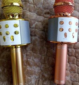 Караоке микрофон (Bluetooth) беспроводной