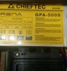 Блок питания CHIEFTEC GPA-500S