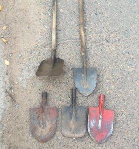 Лопаты в ассортименте
