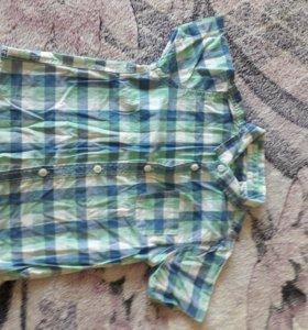 Рубашка zara 86 см