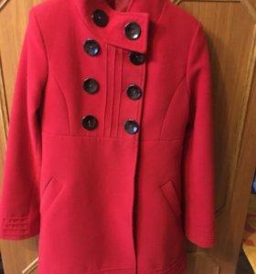 Пальто мутон