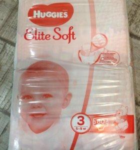 Хагис элит софт памперсы