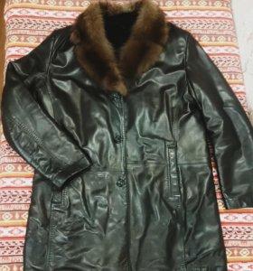 Пальто зима, муж
