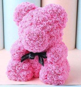 Мишки из роз 🌹