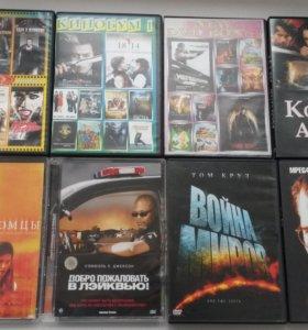 Видео кассеты DVD