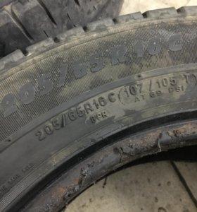 Шины Michelin r16c 205/65