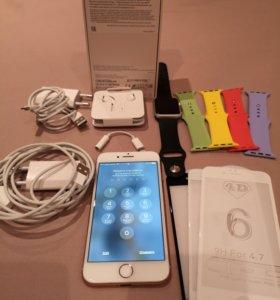 iPhone 8 256gb+apple watch 1 серия