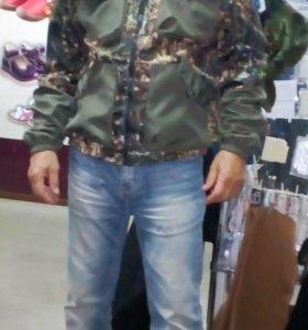 Куртка с брюками на флисе для рыбалки/охоты
