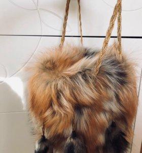 Продаю сумку из меха лисы