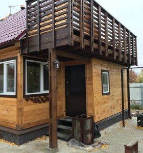 Каркасное домостроение, дома из бруса.