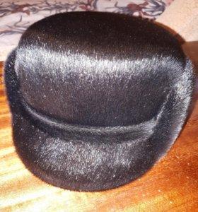 НОВАЯ! Мужская шапка из нерпы