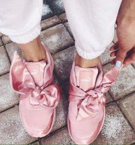 Кроссовки в стиле puma