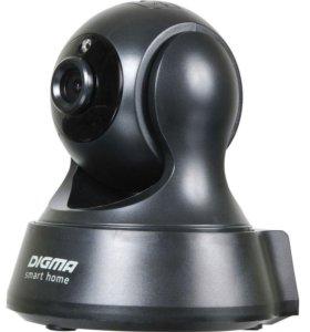Wi-Fi камера поворотная, черная (Android, iOS, PC)