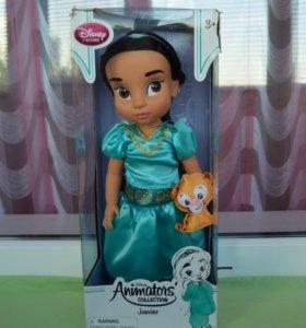кукла Жасмин от Disney Animators 2016 г