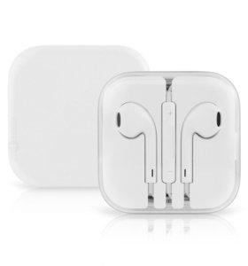 Наушники Apple EarPods lightning