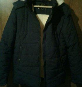 Куртка теплая...новая!