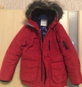 Куртка тёплая. Для мальчика