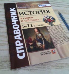 Разные книги: История в схемах и таблицах