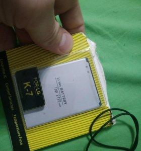Новый аккумулятор для LG K7/K8