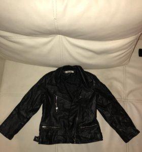 Кожаная куртка косуха 98 см