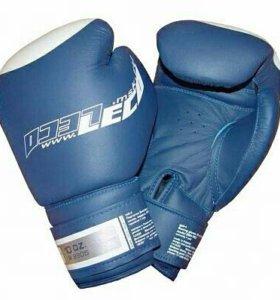 Перчатки боксерские ЛЕКО T007-10ун. Синие