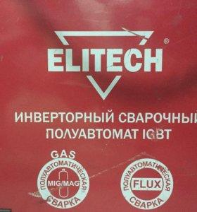 Сварочный полуавтомат инверторный ELITECH ИС250П