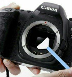 Очистка CCD/CMOS матриц зеркальных фотоаппаратов
