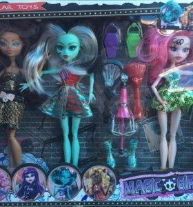 Игрушки, набор кукол