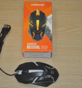 Игровая мышь USB с LED подсветкой Zornwee GM02