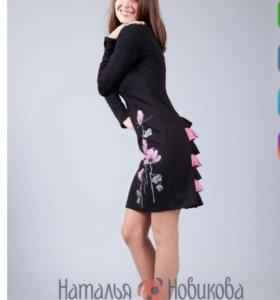 Дизайнерское платье от Натальи Новиковой
