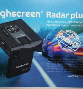 Видеорегистратор+радар-детектор Highscreen